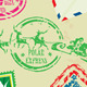 Collection of Christmas Stamps Envelops Labels  - GraphicRiver Item for Sale