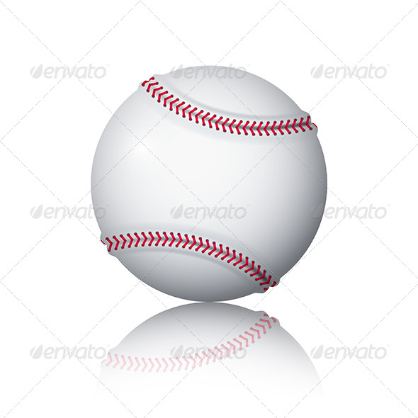 GraphicRiver Baseball Ball 5673803