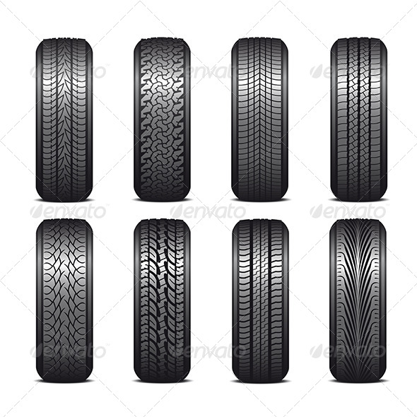 GraphicRiver Tires 5674348