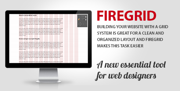 CodeCanyon FireGrid Tool for web designers 5674574