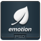 Emotion - PSD Email Template - GraphicRiver Item for Sale