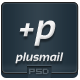 PlusMail - PSD Email Template - GraphicRiver Item for Sale