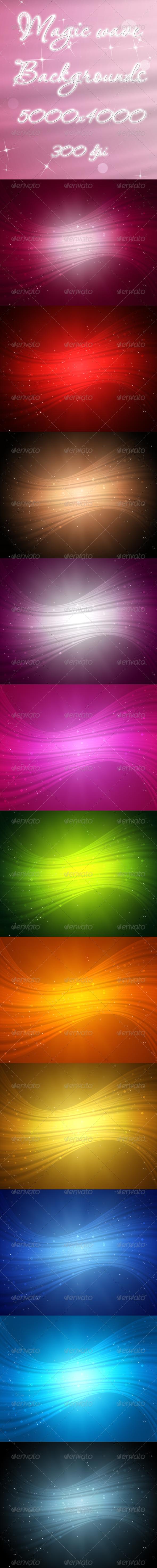 GraphicRiver Magic Wave 5674724