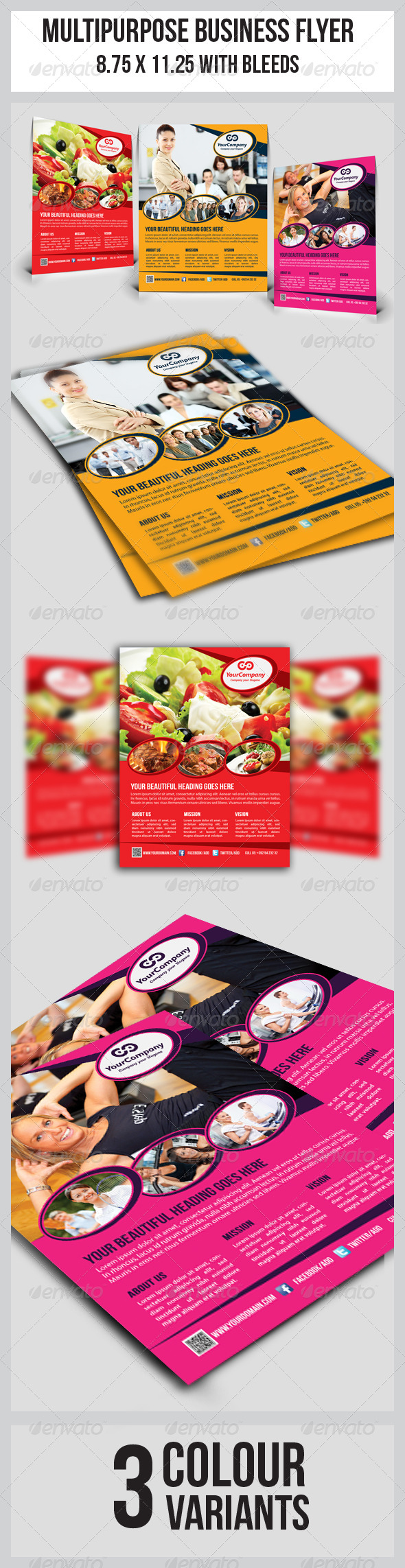 GraphicRiver Multipurpose Business Flyer 5674813