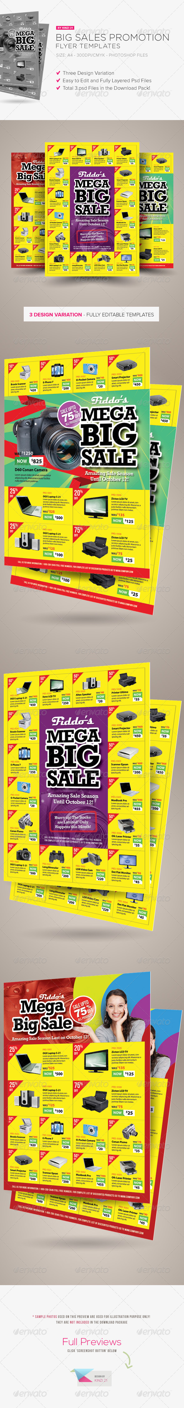 GraphicRiver Big Sale Promotion Flyers 5595976