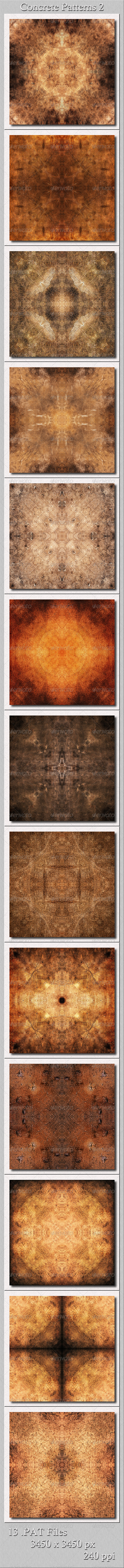 GraphicRiver Concrete Patterns Pkg2 5675442