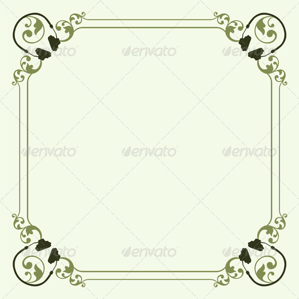 GraphicRiver Decorative Frame 5596423