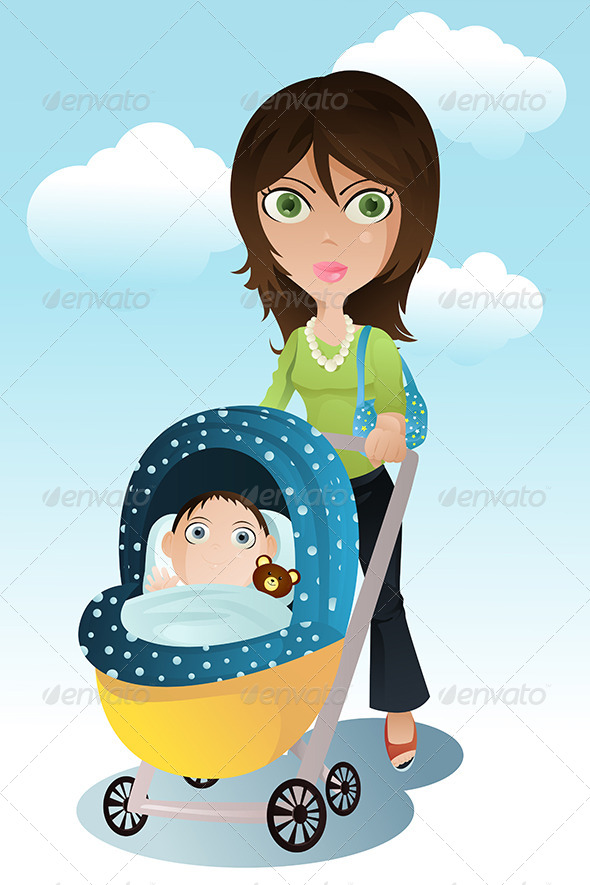 GraphicRiver Mother and Baby 5676099