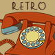 Hand-Drawn Retro Rotary Phones Set - GraphicRiver Item for Sale