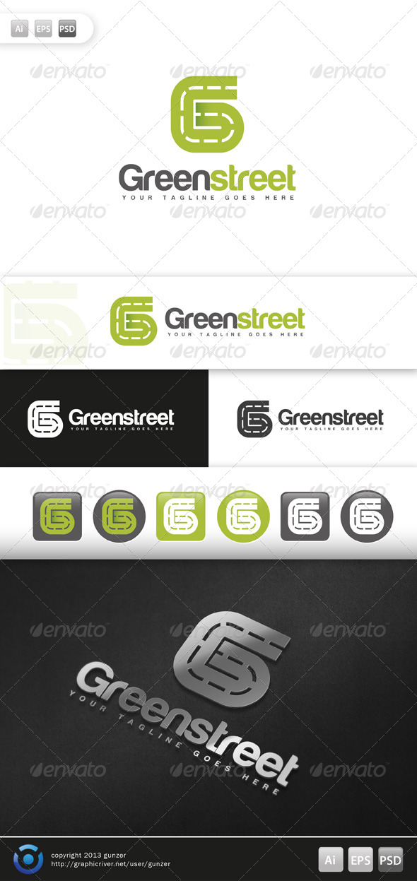 GraphicRiver Green Street 5676540