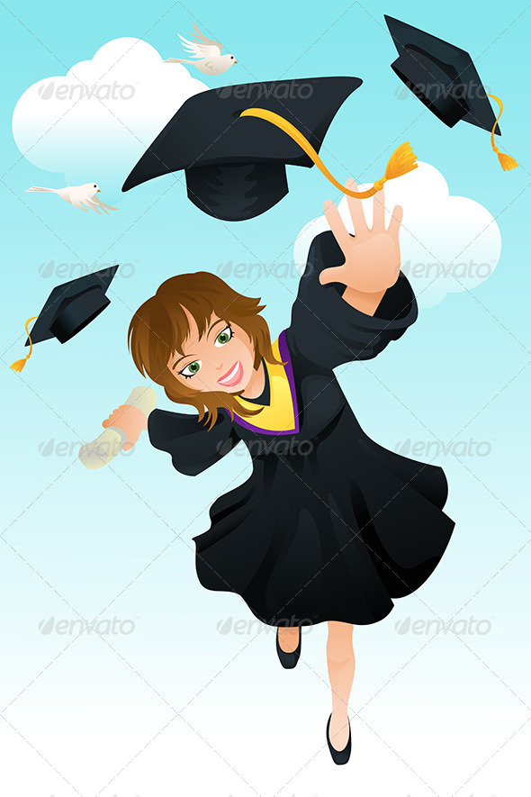GraphicRiver Graduation 5676876