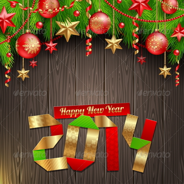 GraphicRiver 2014 New Year Greetings 5677259