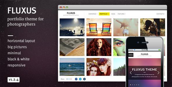 Fluxus v1.1.2 – ThemeForest Portfolio Theme for Photographers