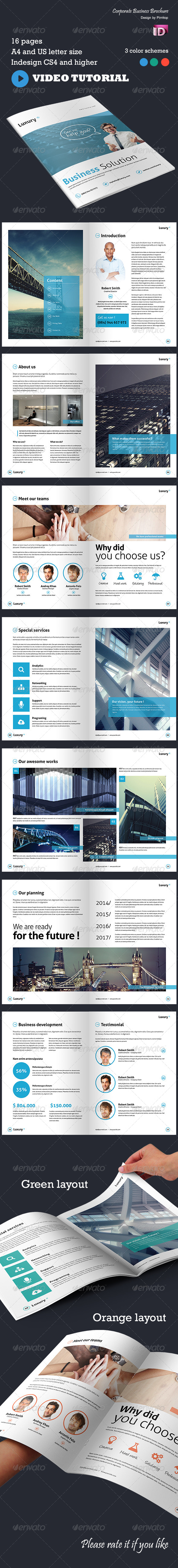 GraphicRiver Corporate Business Brochure Luxury 5677575