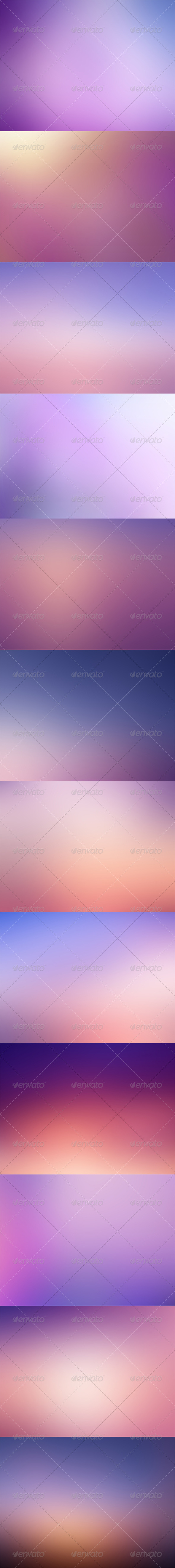 GraphicRiver 12 Purple Backgrounds HD 5677984