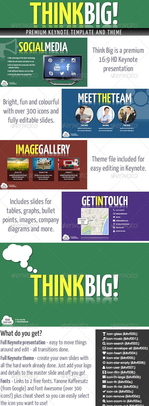 GraphicRiver Think Big Keynote Presentation 5621925