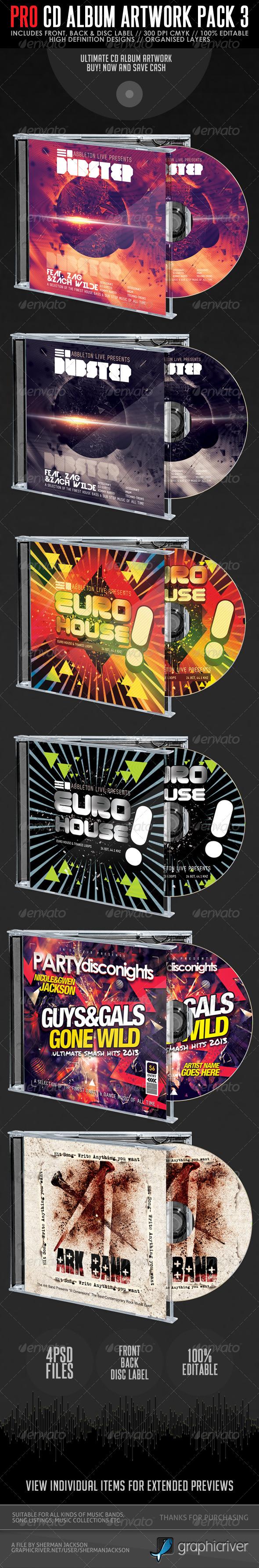 GraphicRiver Pro CD Artwork Bundle Package V.3 5678394