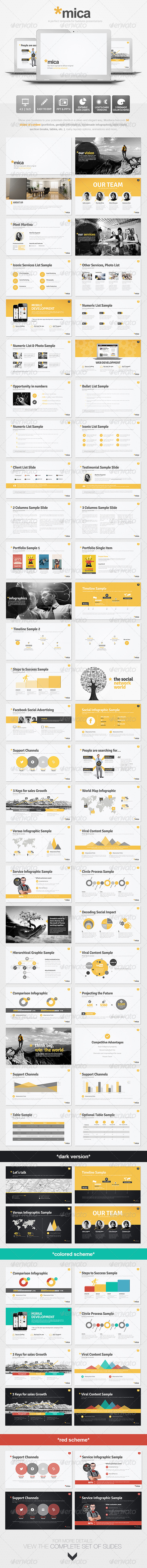 GraphicRiver Mica Powerpoint Presentation Template 5641213