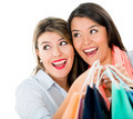 Surprised female shoppers - PhotoDune Item for Sale