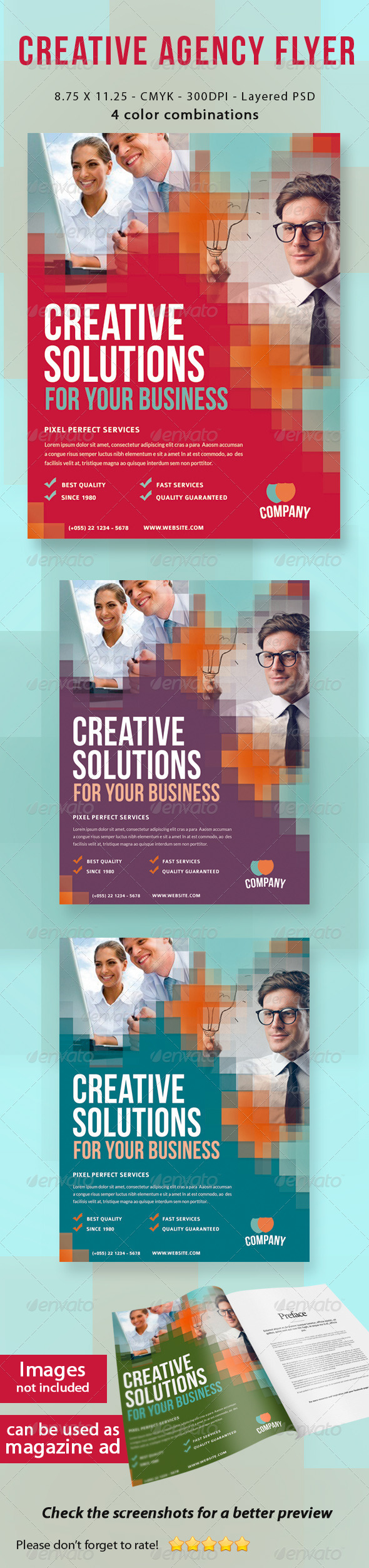 Advertising Agency Flyer Creative Agency Flyer