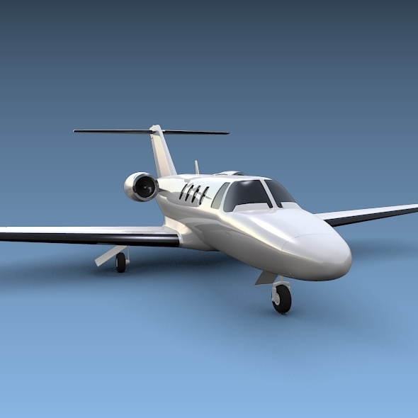 Cessna Citation cj1 private jet - 3DOcean Item for Sale