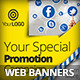 Social Media Marketing Web Banners 2 - GraphicRiver Item for Sale