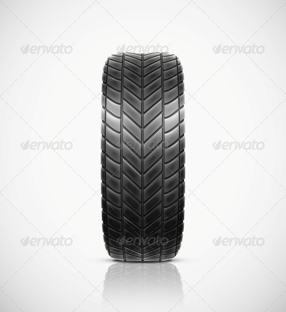 GraphicRiver Isolated Tire 5679540
