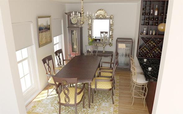 3DOcean Interior Home 5679694