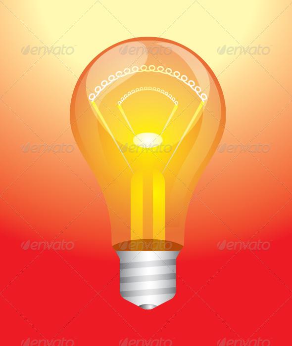 GraphicRiver Light Bulb 5679857