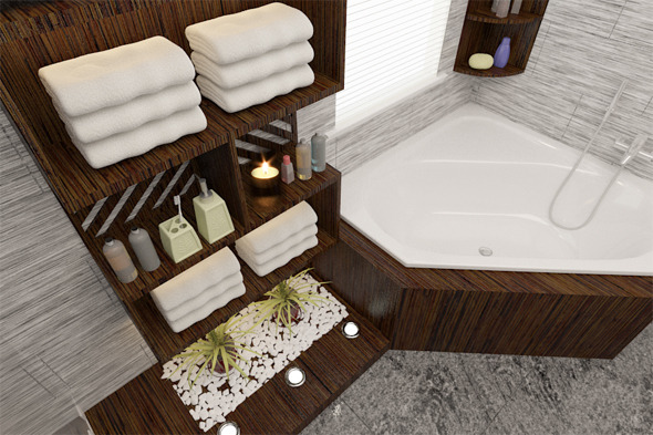3DOcean Interior design Bathroom 5679862