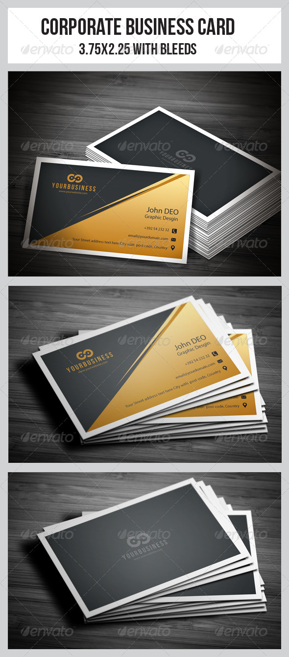 GraphicRiver Corporate Business Cards 5679861