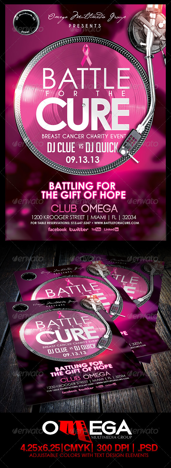 GraphicRiver Battle for a Cure 5507474