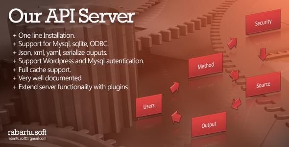 CodeCanyon Our API Server 5679947