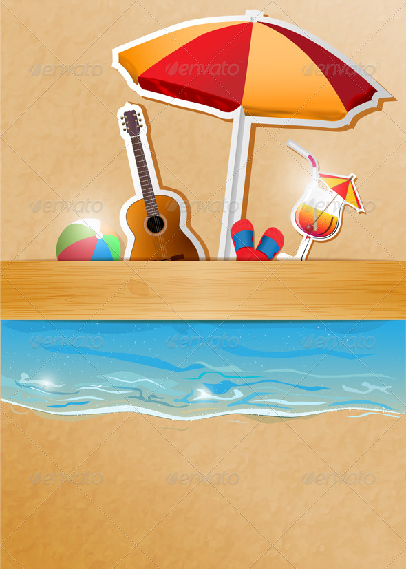 GraphicRiver Beach Party Banner 5680667