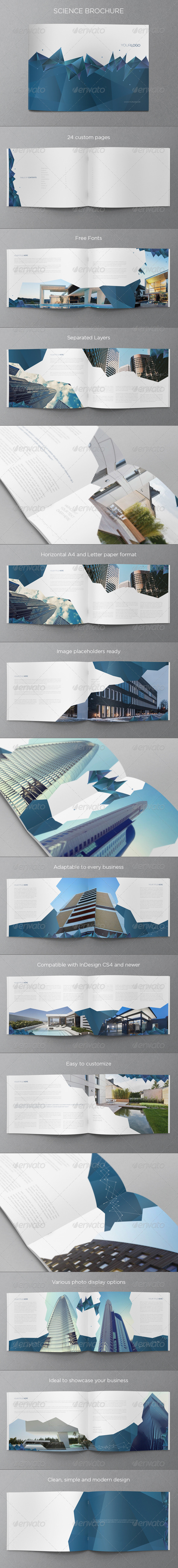 GraphicRiver Science Brochure 5680739