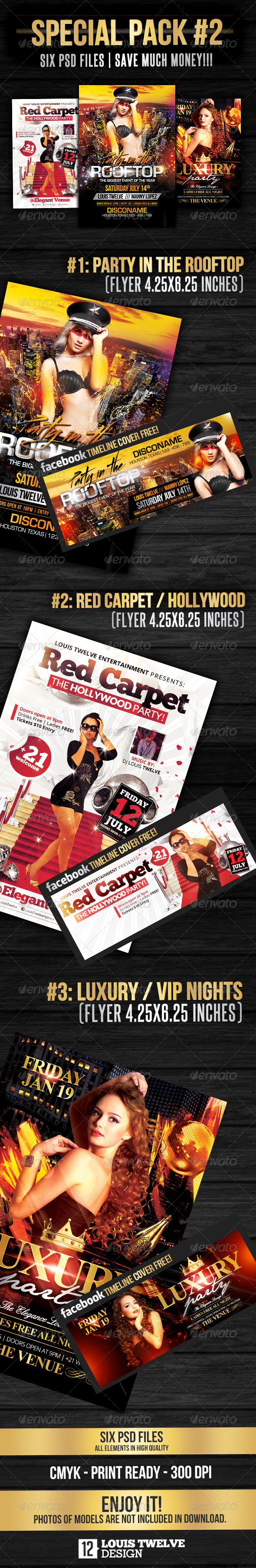 Special Bundle 02 | Flyers + Fb Covers - Events Flyers