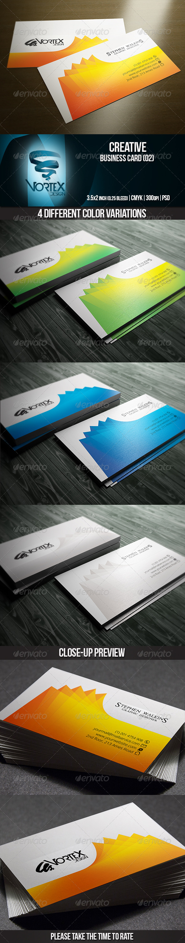 GraphicRiver Creative Business Card 02 5681239