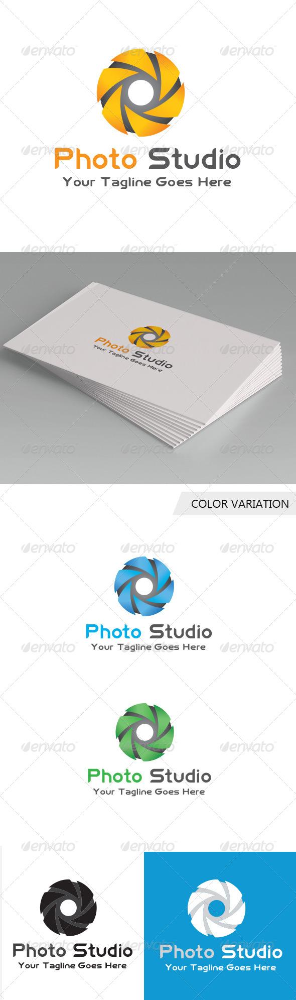 GraphicRiver Photo Studio Logo Template 5681439