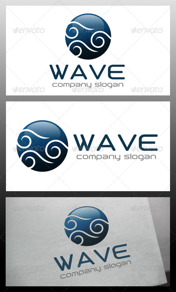 GraphicRiver Wave Ball Logo Template 5681847