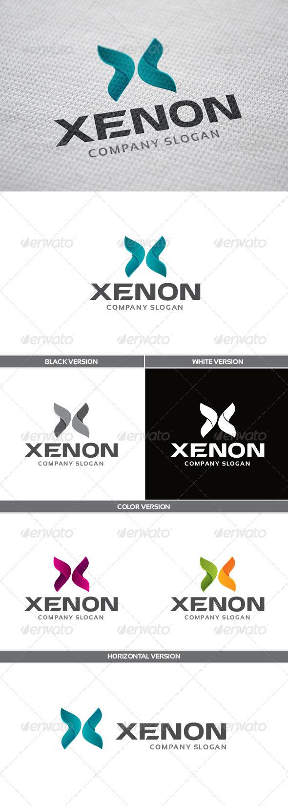 GraphicRiver Xenon Logo 5682114