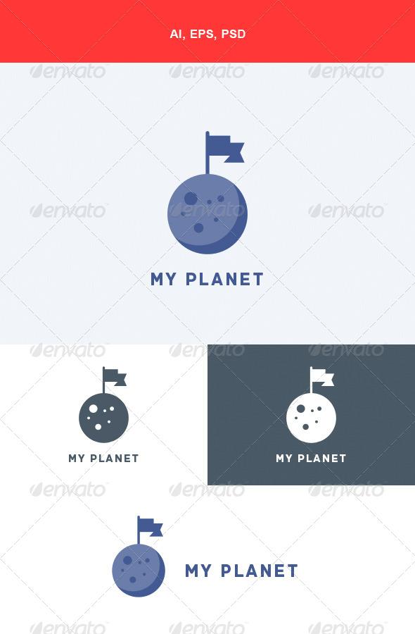 GraphicRiver My Planet Logo 5682290