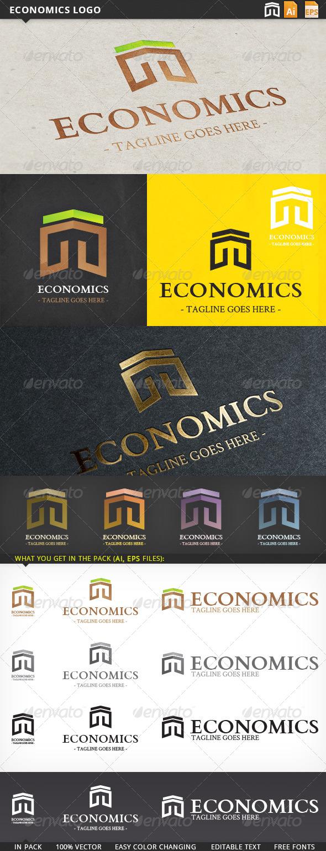 GraphicRiver Economics Logo 5682345