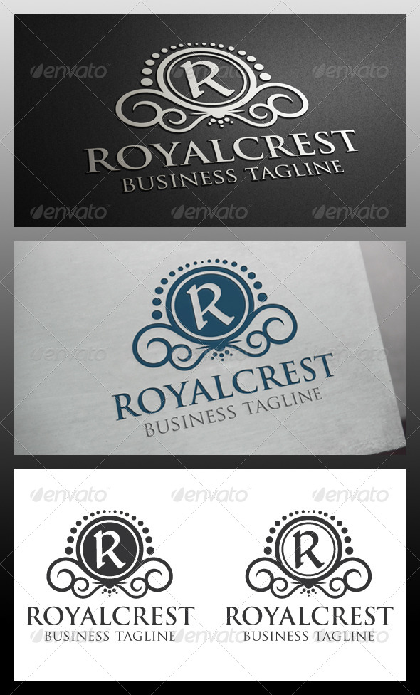 GraphicRiver Royal Crest Logo Template 5682431