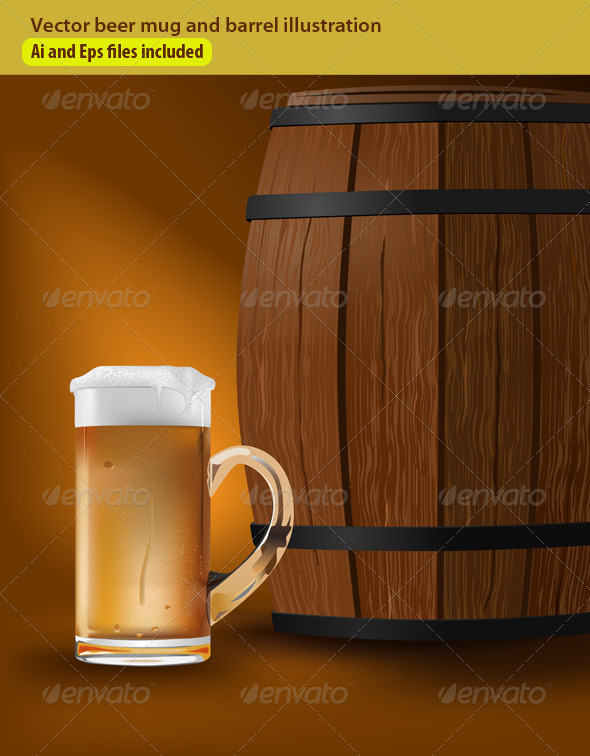 GraphicRiver Beer Barrel 5682540