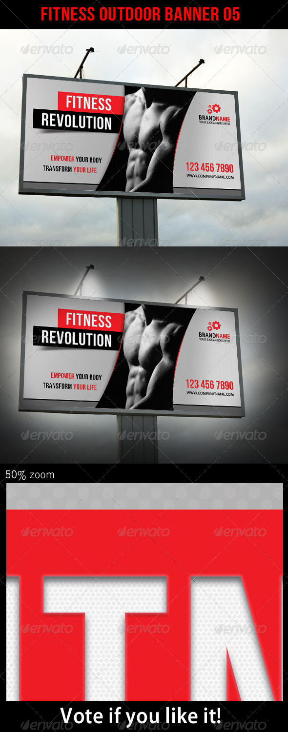 GraphicRiver Fitness Outdoor Banner 05 5682680