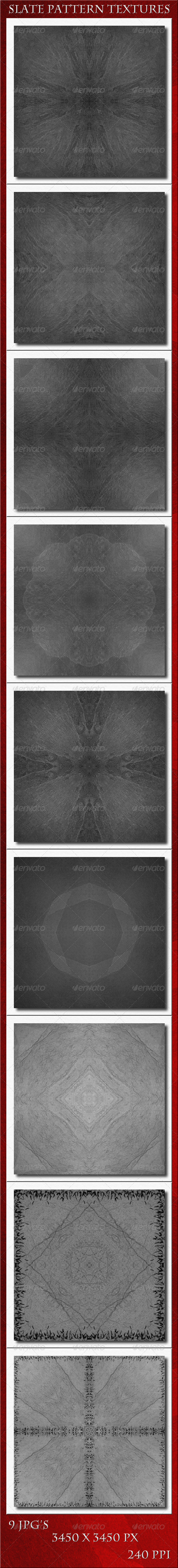 GraphicRiver Slate Pattern Textures 5682952