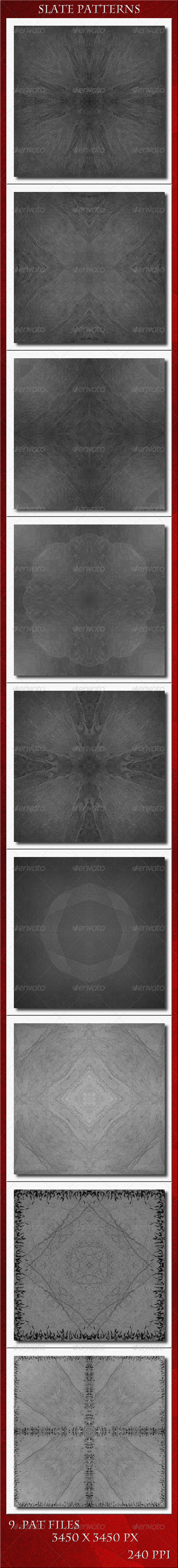GraphicRiver Slate Patterns 5683000