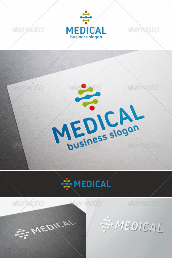 GraphicRiver Medical Plus Health Logo 5683006