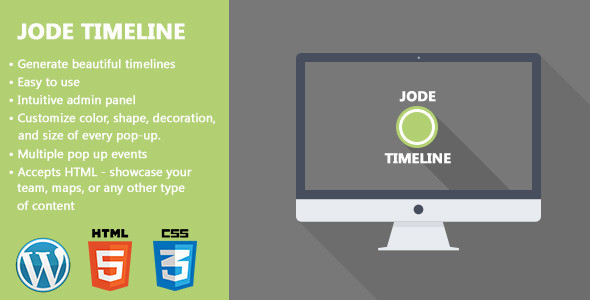 CodeCanyon JoDe Timeline Flexible Content Timeline 5683012
