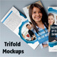 Photorealistic Tri-Fold Mock-ups - GraphicRiver Item for Sale